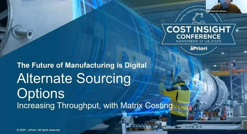 How to Quickly Evaluate Multiple Sourcing Options | Cost Insight Conference 2020