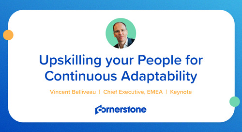 Upskilling your People for Continuous Adaptivity