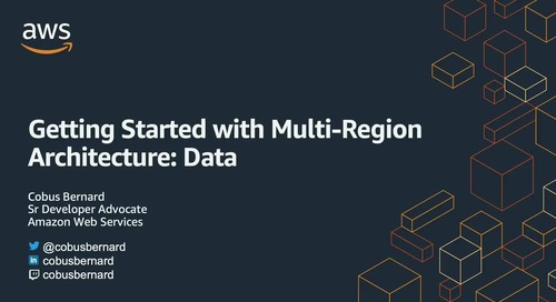 Migration and multi-region architecture