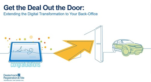 Get the Deal Out the Door: Extending the Digital Transformation to your Back Office