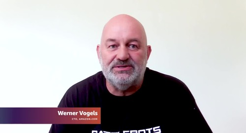 AWS Summit Online ASEAN 2020 | Opening Keynote with Dr. Werner Vogels