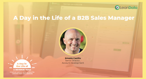 A Day in the Life of a B2B Sales Manager