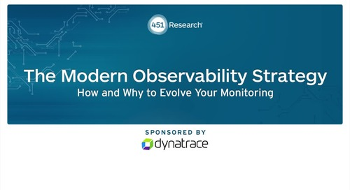 Nancy Gohring on The Modern Observability Strategy: How and Why to Evolve Your Monitoring