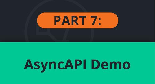 PubSub+ Event Portal Demo Part 7: AsyncAPI
