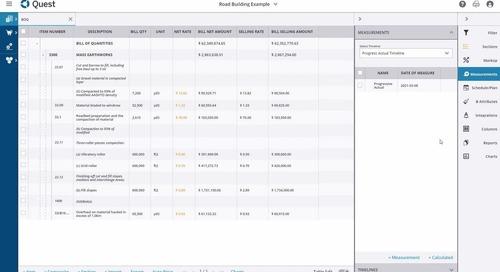 Trimble Quest | Budget Management for Estimators