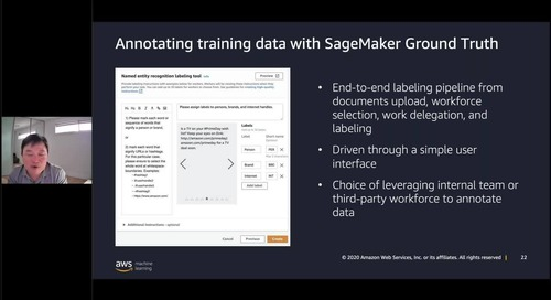 Making Sense of Documents with Amazon Textract and  Amazon Comprehend