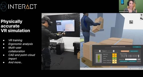 Immersive Training for Plants and Job Sites