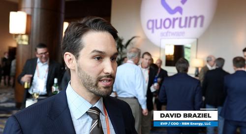 xPortCon 2019 - Quorum Interviews David Braziel of RBN Energy