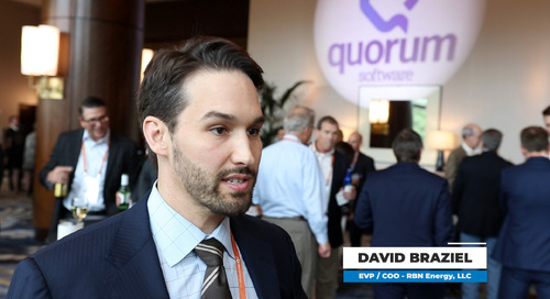 xPortCon 2019 - Quorum Interviews David Braziel of RBN Energy