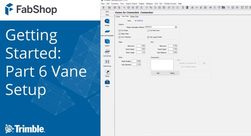 Getting Started with FabShop: Part 6 Vane Setup