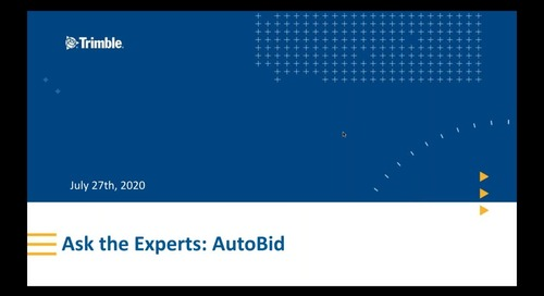 Ask the Experts: AutoBid Rapid Reports