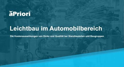 Automotive LightWeighting Demo - LinkedIn InMail DE PH1 - G
