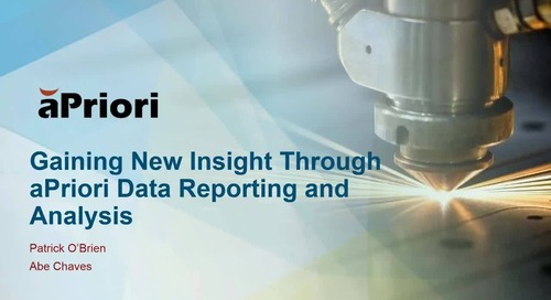 Gaining New Insight Through Reporting