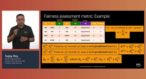 Incorporating explainability and fairness-awareness in ML solutions(Level 300)