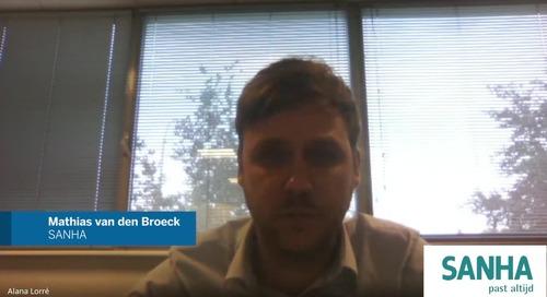 Interview Mathias van den Broeck from Sanha!