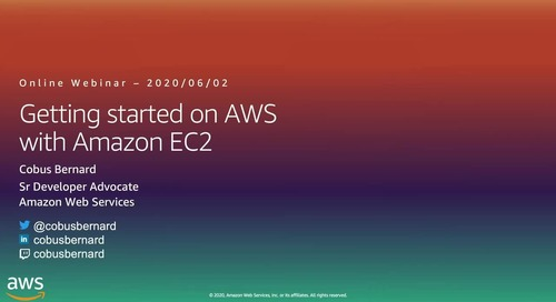 Getting Started on AWS with Amazon EC2