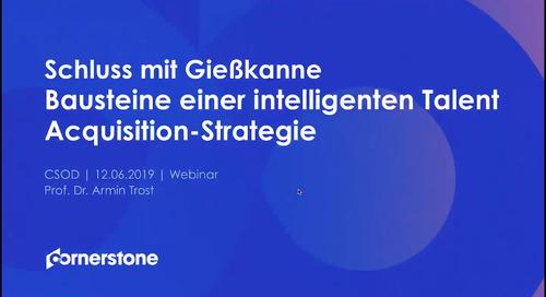 Webinar mit Armin Trost - Talentgewinnung - Schluss mit Gießkanne