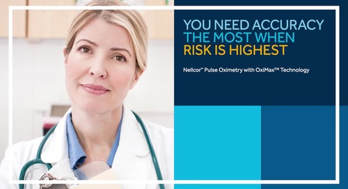 Watch Nellcor™ Pulse Oximetry with OxiMax™ Technology in Action