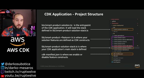 Getting started with AWS: Infrastructure as Code- CDK