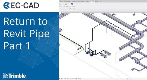 Return to Revit Pipe Part 1