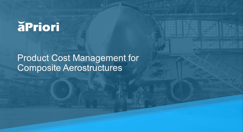 Product Cost Management for Composite Aerostructures