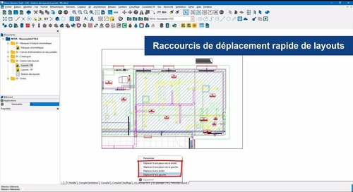 Trimble Nova V16.0 - Gestion des layouts