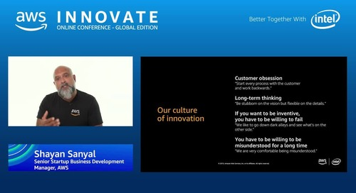How we think about innovation at AWS - AWS Innovate