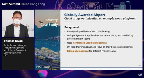 Sponsored by HKT Enterprise Solutions: Effective best practices in cloud acceleration and optimization