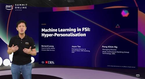 Machine learning in FSI: Hyper-personalisation [L200]