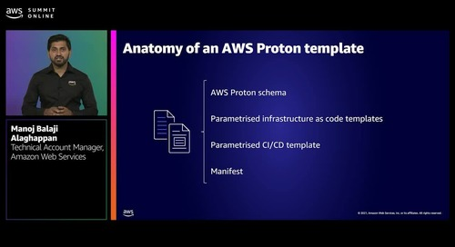 Managing the complexity of microservices with AWS Proton