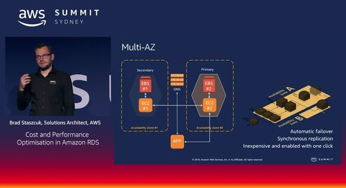 Cost and Performance Optimisation in Amazon RDS