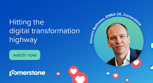 Hitting the digital transformation highway I with EMEA CE Vincent Belliveau