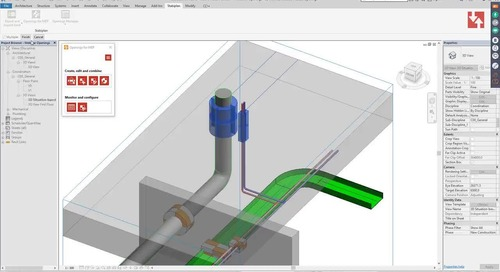 Openings for MEP - The easy way to combine MEP openings in Revit