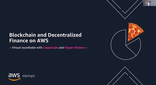 Blockchain and Decentralized Finance on AWS