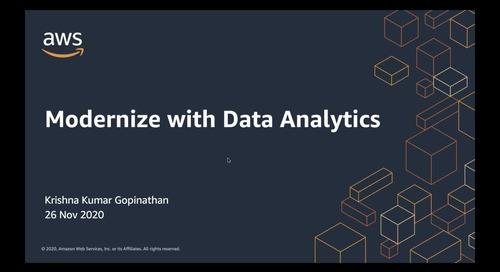 Modernization with Data Analytics