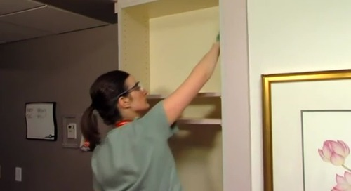 Rubbermaid®: Cleaning a patient room after discharge
