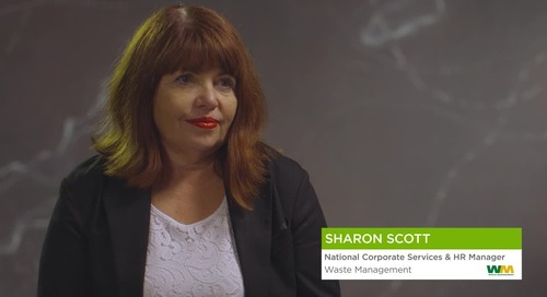 Sharon Scott from Waste Management