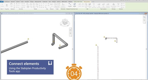 How to Connect elements in Revit | Productivity Tools App for Revit