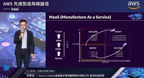 AWS先進製造高峰論壇: 「出行產業」的轉型與整合輸出