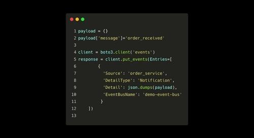 [Demo] Membangun microservices secara serverless - AWS Eventbridge
