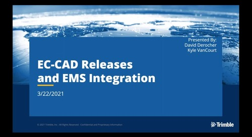 What's New in EC-CAD v10.2 and v11.0 with EMS Integration