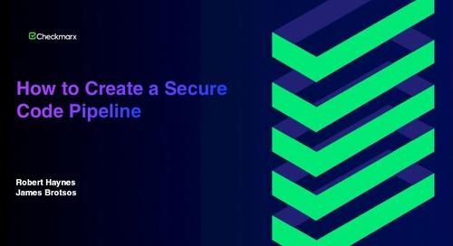 Webinar: How to Create a Secure Code Pipeline in Modern App Development