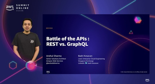 Battle of the APIs: REST vs. GraphQL [L300]