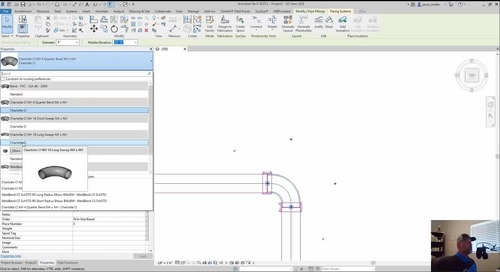 SysQue Piping 101 Training Series Part 13: Revit Type Selector