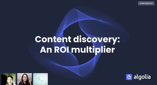 Content discovery: An ROI multiplier