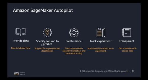 AWS 線上研討會_加速你的機器學習之旅 - AWS 最新技術與應用