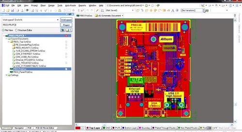 Variants Toolbar in PCB editor - Features