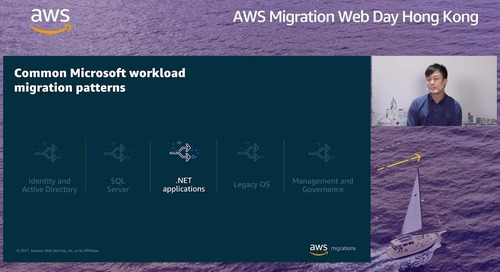 5 Common Patterns in Migrating Microsoft Workloads to AWS with ASF Consultancy (Cantonese)