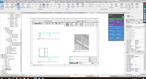 Webinar Tips and Tricks W - Prefab sheets in Revit (Deel 2)