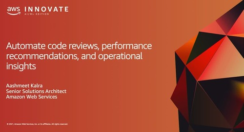 Automate Code Reviews, Performance Recommendations and Operational Insights  (Level 300)